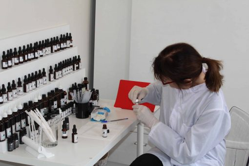 Fragrance making lab