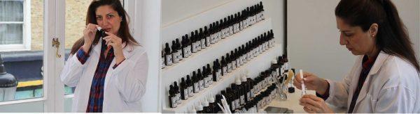 Zaga Colovic perfumer at Beauty Handmade